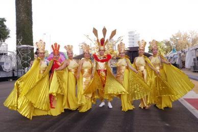 Thành phố Hồ Chí Minh tạo dấu ấn mạnh tại Lễ hội Chingay Singapore 2019